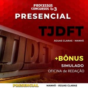 TJDFT - Área Administrativa - Matutino 430h/a - Águas Claras/DF