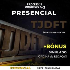 TJDFT - Área Administrativa - Noturno 430h/a - Águas Claras/DF