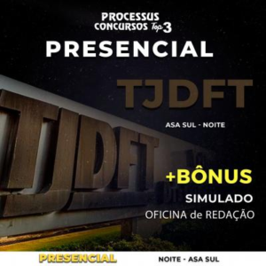 TJDFT - Área Administrativa - Noturno 430h/a - Asa Sul/DF