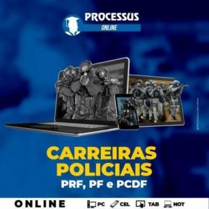 CARREIRAS POLICIAIS  - Curso online