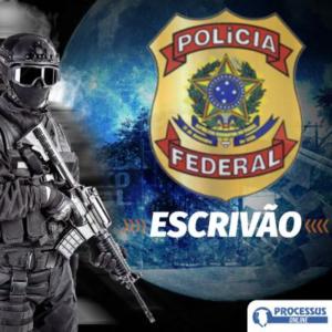 POLÍCIA FEDERAL -  ESCRIVÃO - Curso online