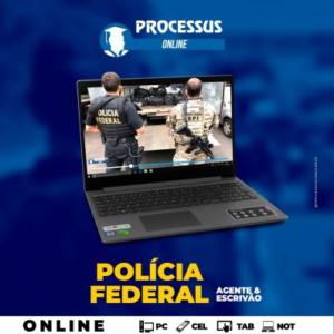 POLÍCIA FEDERAL -  AGENTE e ESCRIVÃO - Curso online