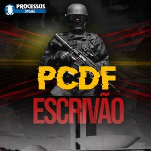 PCDF - ESCRIVÃO - Curso online