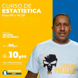 ESTATÍSTICA - Prof Wilson de Oliveira - Curso online