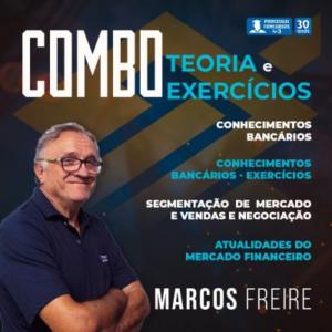 COMBO CONHECIMENTOS BANCÁRIOS - BANCO DO BRASIL  - Curso online